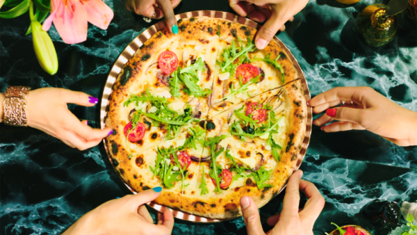 Pizza för Milad